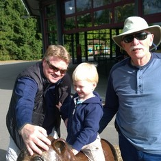 Papa, Steve and Nathan