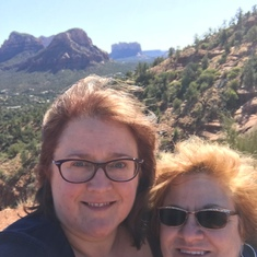 Friends since 7th grade...we were able to spend a day in Sedona together last year and experience a vortex.