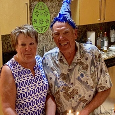 Bill's 75th Surprise Birthday get together at the Sapphire South Padre Island TX  By GG