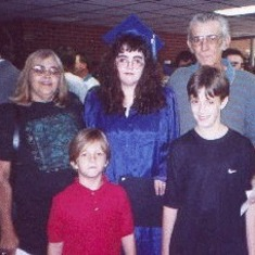 Vicki, Patty, Bill, Brady & Luke