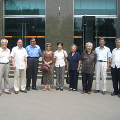 Winston and Katy visited China IHEP with High Engery Fellows