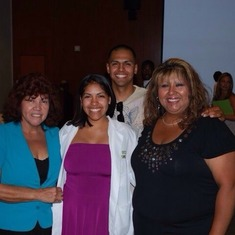 My mama, Mando & I at Carissa graduation from her dental school summer program!! My mama was so proud to be there!!