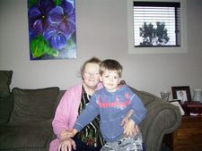Nana Bev and Zachary 2007